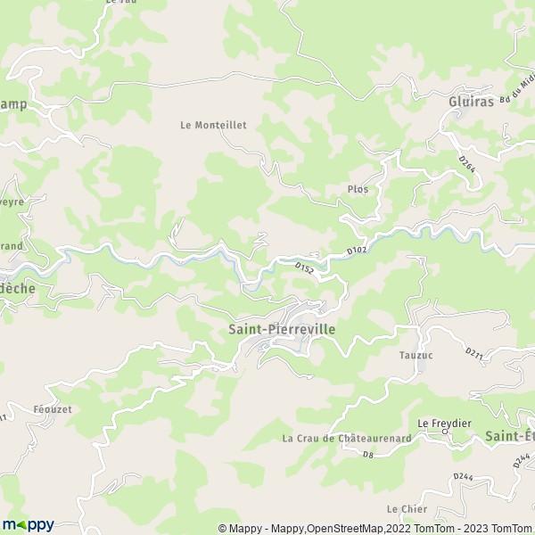 Plan De Ville De Illeville Sur Montfort