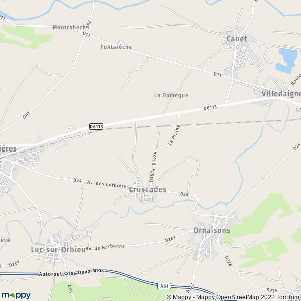 Plan De La Ville De Lencloitre