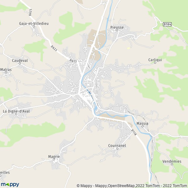 plan quimperlé carcassonne