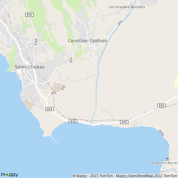 Plan Ville Saint Chamas