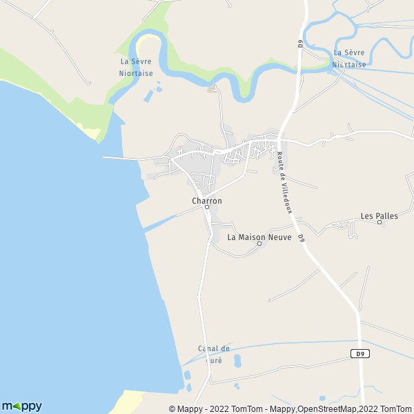 Plan Charron Carte De Charron 17230 Et Infos Pratiques