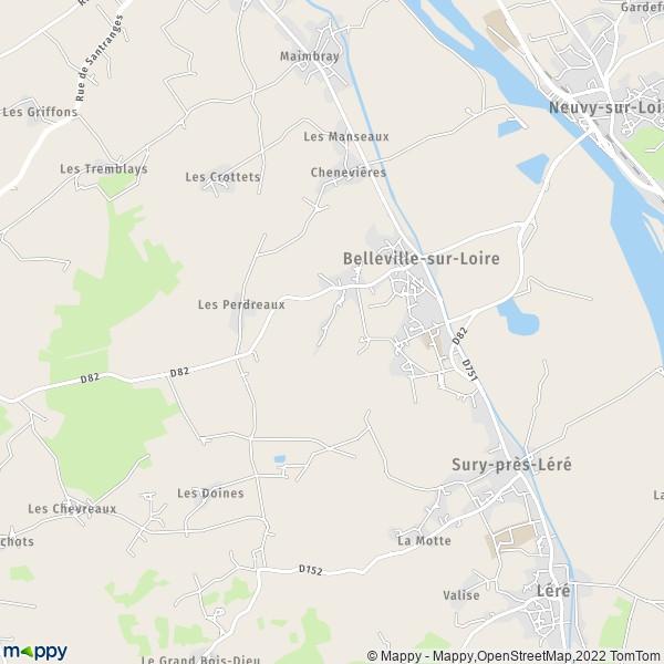 plan belleville sur loire carte de belleville sur loire On plan de belle villa