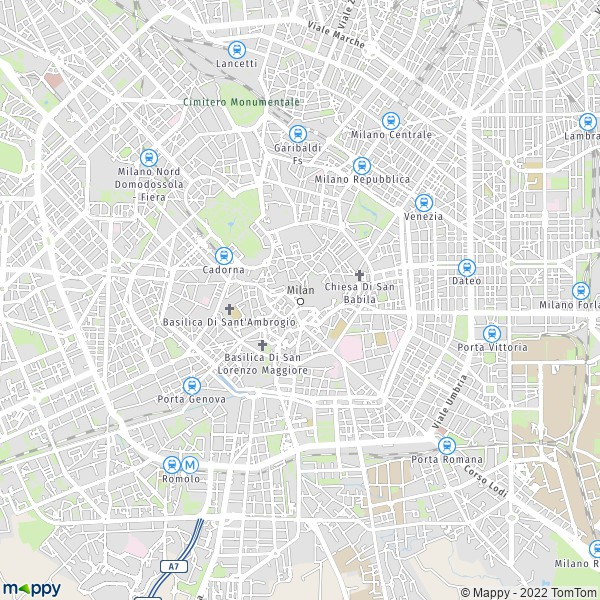Plan milan : carte de milan (20121) et infos pratiques