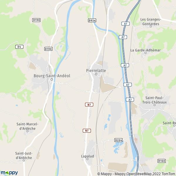 Grande Ville En Auvergne Pres De Vallon Pont D Arc