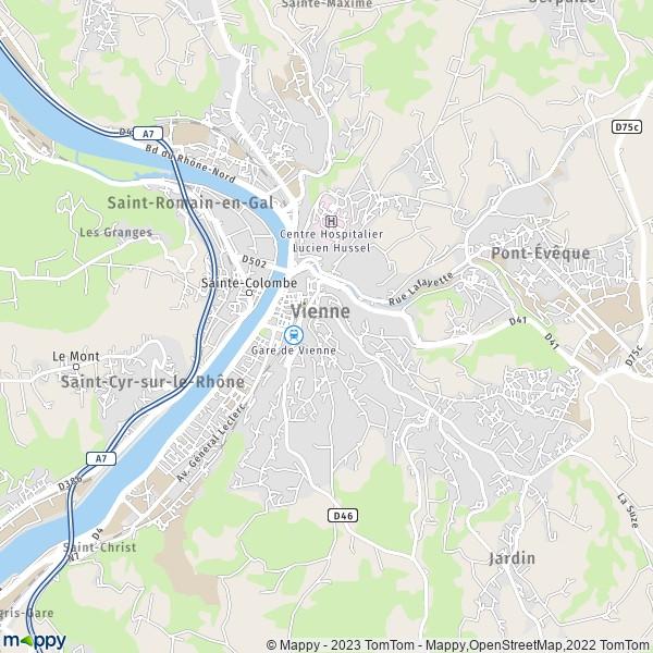 Plan De Ville Bourgoin Jallieu