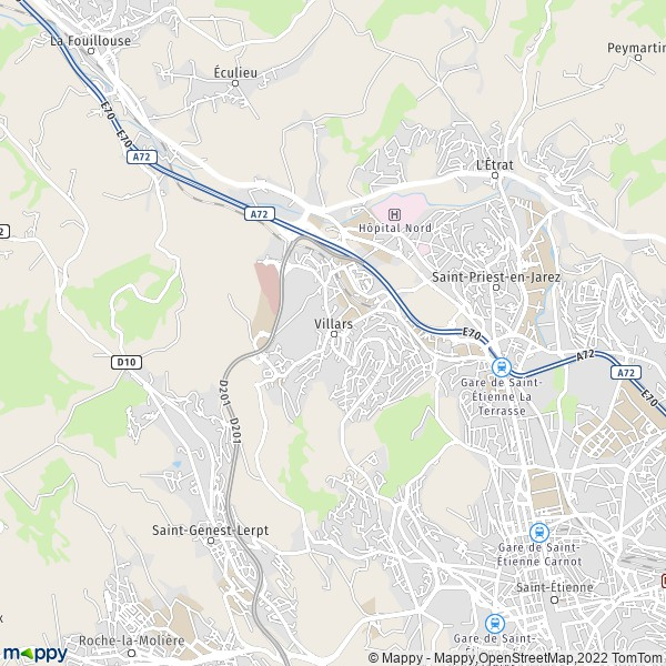 plan de Villars, carte de Villars