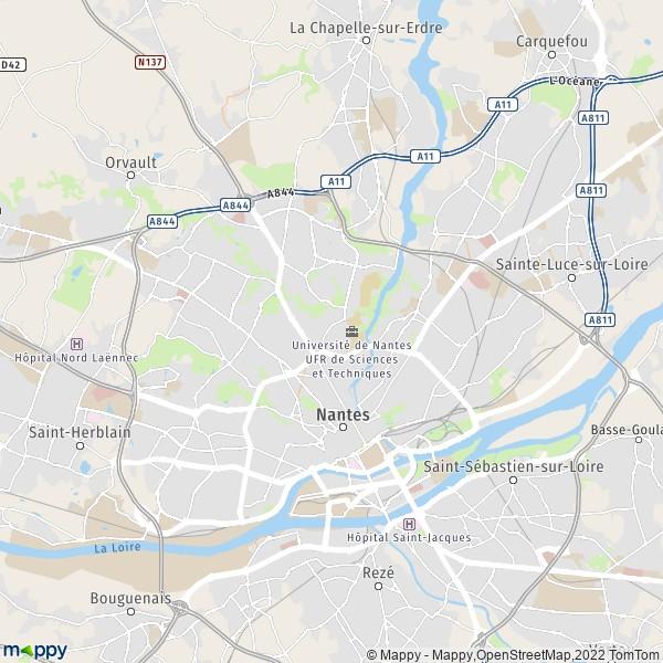 plan q rapide Nantes