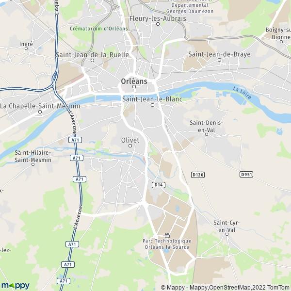 Plan d Orléans