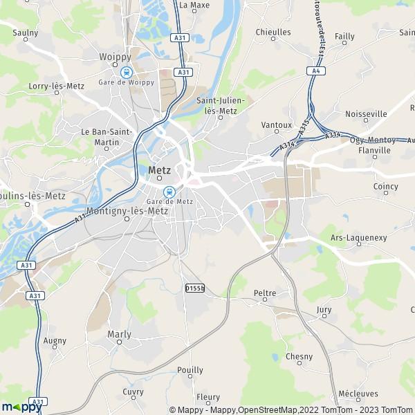 plan cul metz Besançon
