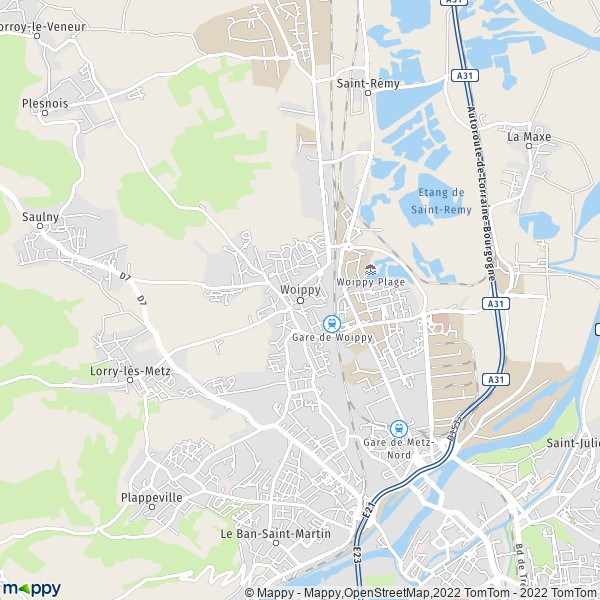 Woippy France  city photos : Plan Woippy : carte de Woippy 57140 et infos pratiques