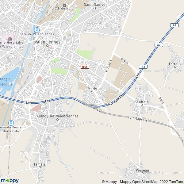 plan de Marly, carte de Marly