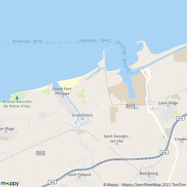 Grand Fort Philippe Plan De La Ville