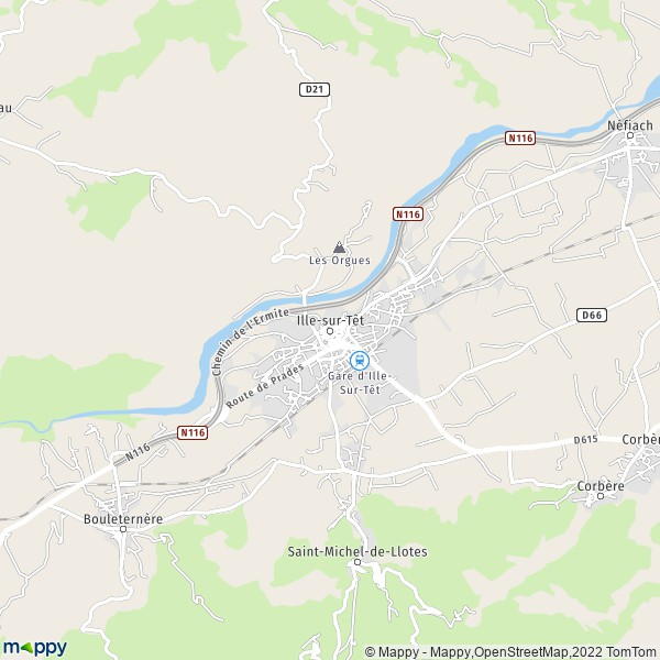 Plan Ille Sur T 234 T Carte De Ille Sur T 234 T 66130 Et Infos Pratiques