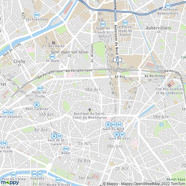 Parking 18e arrondissement paris 75018 - 6 avenue de la porte de la chapelle 75018 paris ...