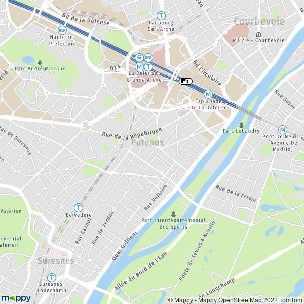 Plan Ville De Vernon