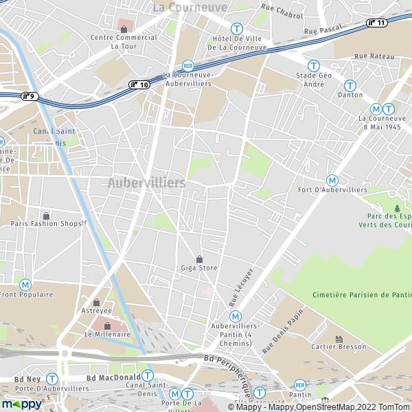 carte routiere banlieue region parisienne plans des aeroports et villes nouvelles