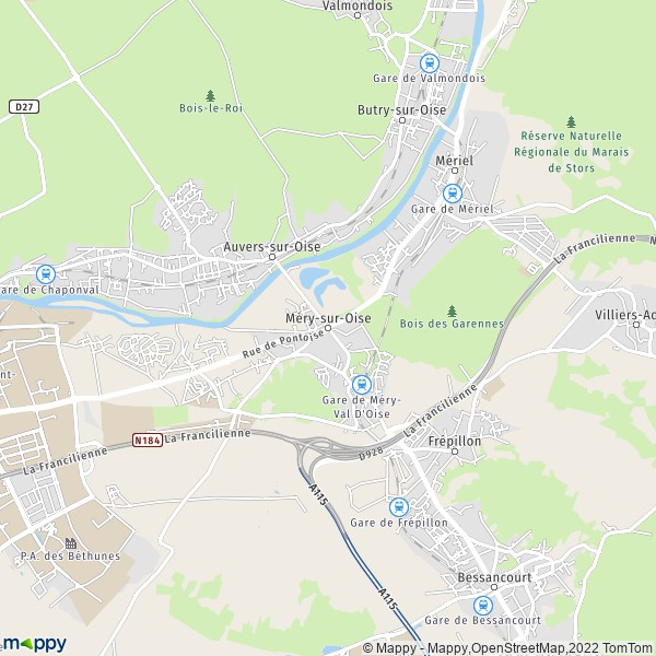 Montpon Menesterol Plan De La Ville